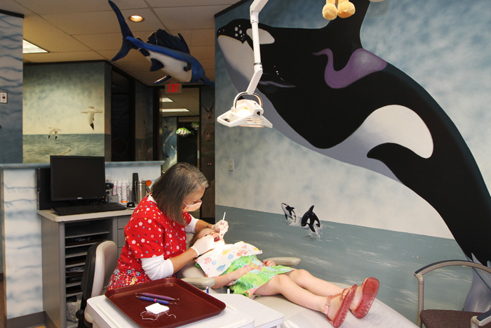 Whale Room - Pediatric Dentist in Houston, Memorial and The Heights, TX