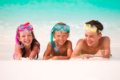 Kids with Snorkels - Pediatric Dentist in Houston