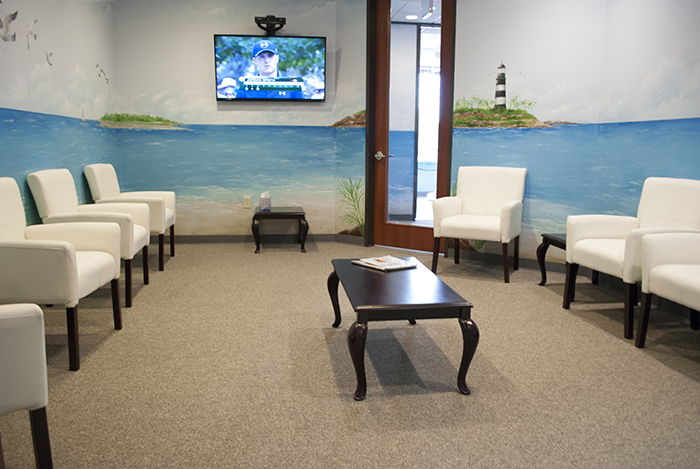 Second waiting room in Pediatric Dentist Office in Houston, Memorial and The Heights, TX